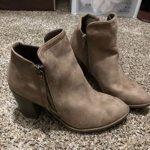 Shoes - Trends Up Collection Booties Beige 8.5